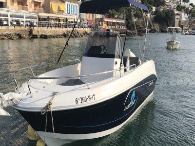 Alquiler de barco con titulín Andratx 4 horas
