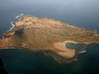 Isla de Lobos from the helicopter