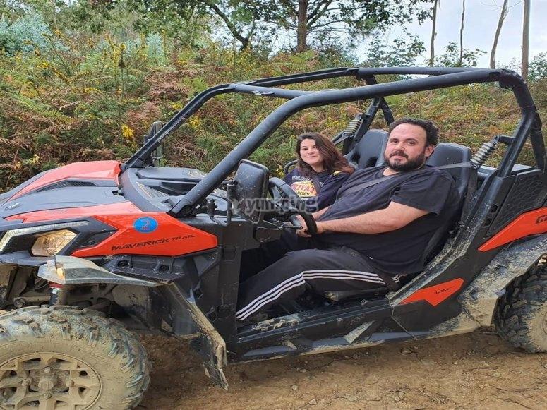 Pasea en buggy con tu pareja Gijón