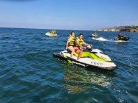 Travesía en moto de agua Gijón