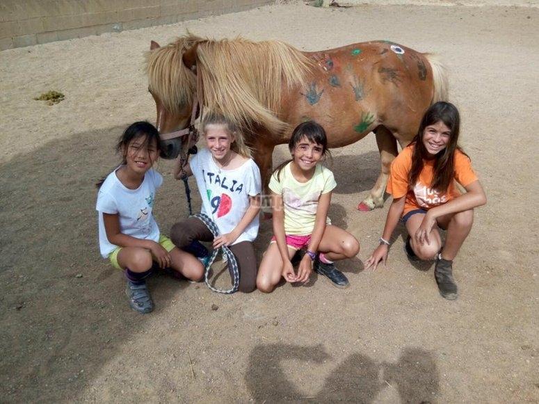 Campamento de equitación en Vidreres