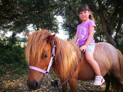 Campamento de equitación en Vidreres 7 días verano