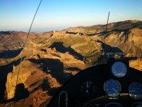 Ultralight flight over Gran Canaria
