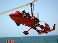 Taking off in an autogyro