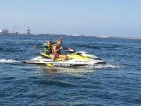 Jet ski escape and spa Gijón