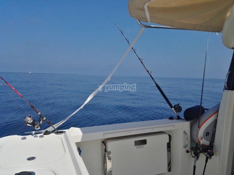 Salida de pesca en Cádiz