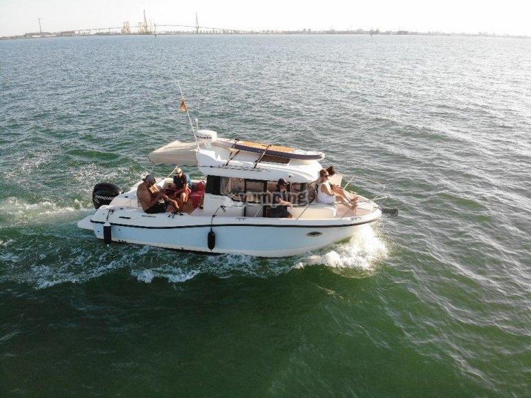 Tour de pesca en Cádiz
