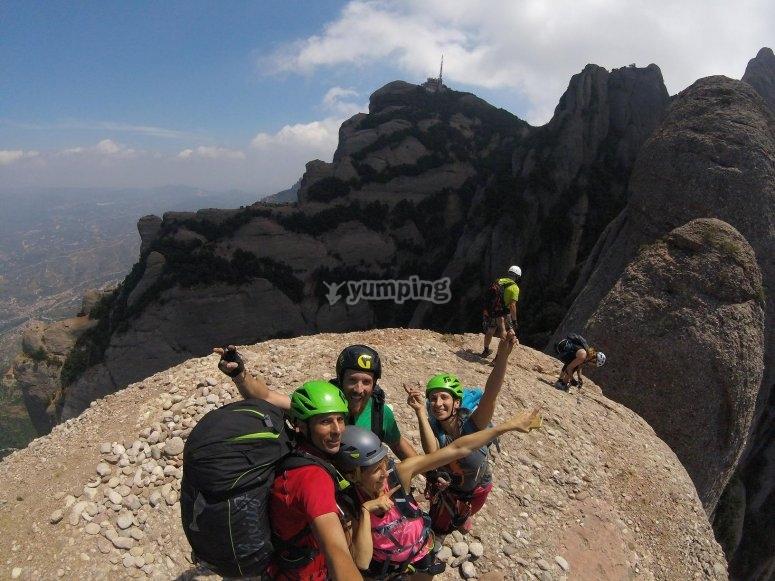 Climbing for beginners in Monserrat