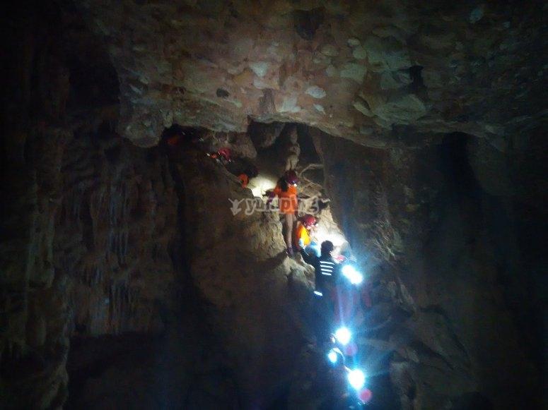 Caving in Montserrat