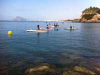 Reagrupandonos en kayak