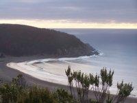 马蹄形海滩