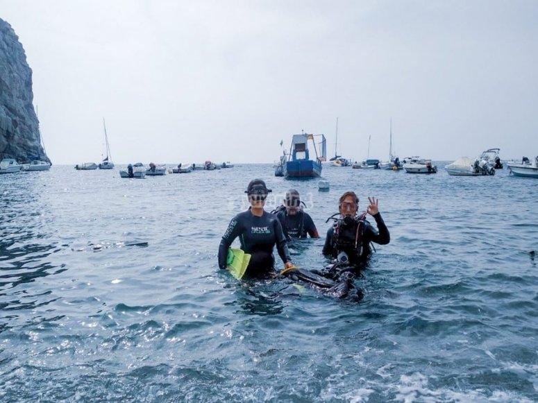 格拉纳达海岸潜水