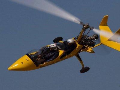 Vuelo iniciación en girocóptero en Madrid 15 min