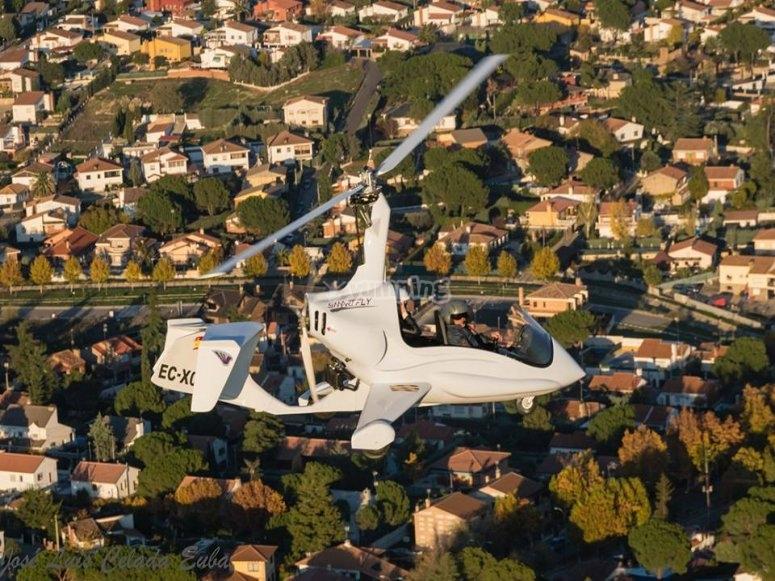 Experiencia de vuelo en girocóptero