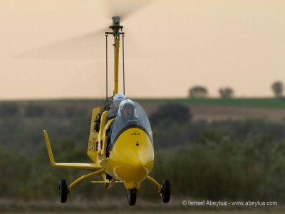 Iniciación al girocóptero durante 10 min en Madrid