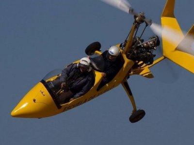 Iniciación vuelo girocóptero Navalcarnero 20 min