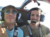 Piloto y copiloto en Cadiz