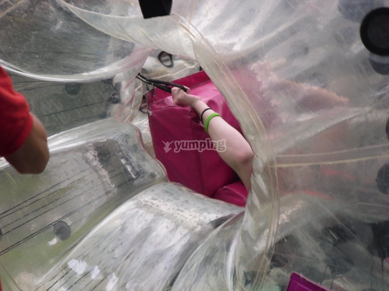 Nascondere la bolla gigante