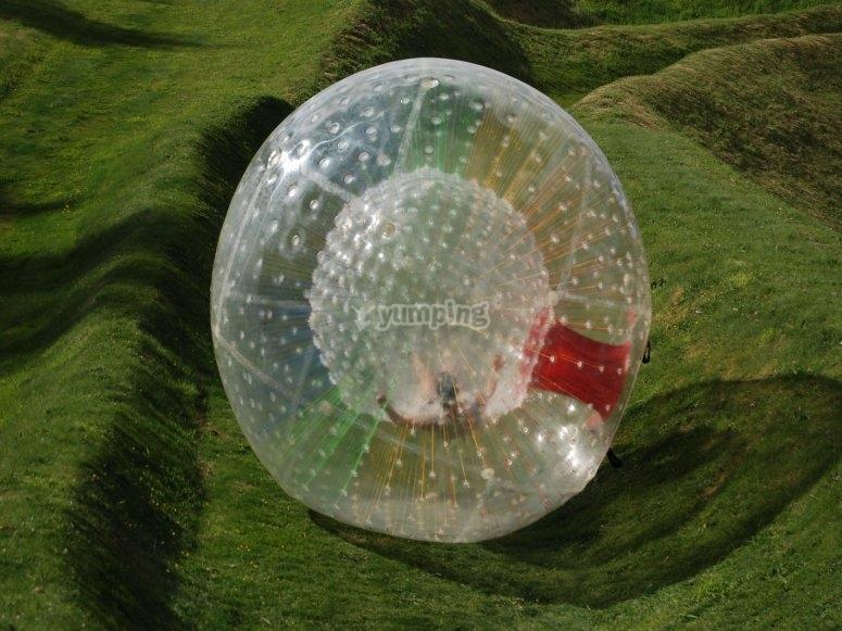 Rotolare dentro la bolla