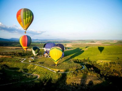 Balloon flight in Guadalajara with photos 1 hour