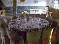 晚餐和餐食室