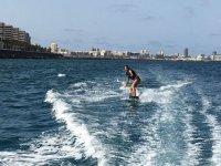 Sesion de wake en Las Palmas