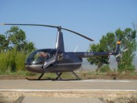 我们的直升机 - 在东海岸的罗宾逊44乌鸦II
