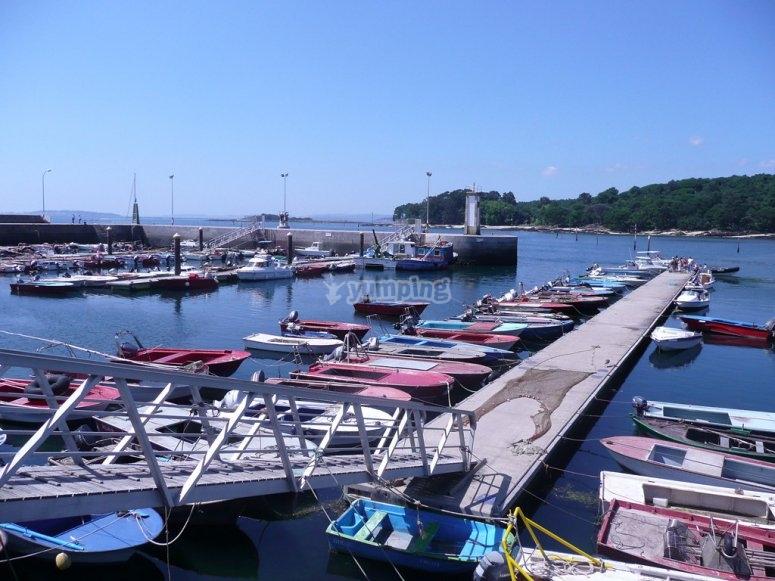 Gita in barca attraverso Vilagarcia de Arousa