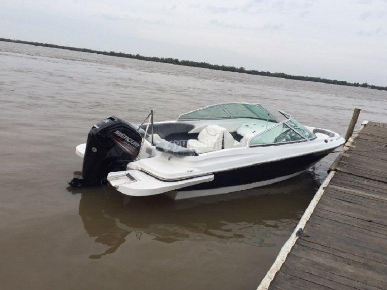 Una delle nostre barche ormeggiate