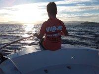 Alquiler de barco con patrón en Arousa 1 hora