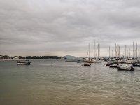 Barche nell'estuario