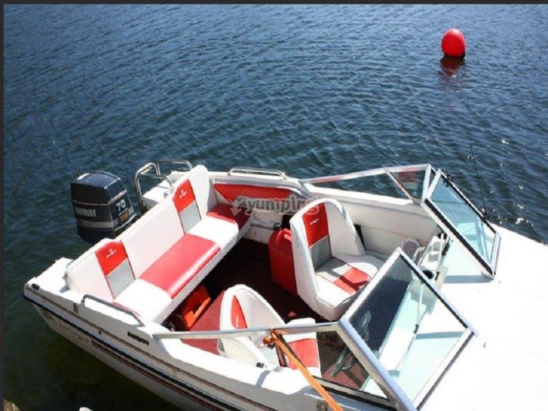Attracco barca