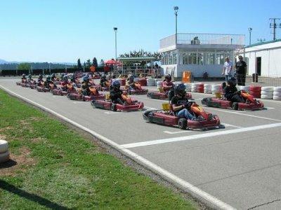 Karting Sallent Team Building