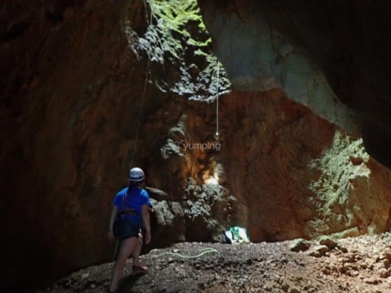 下降的峡谷