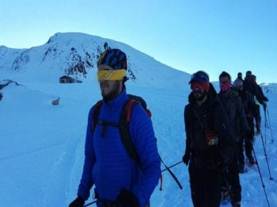 2 days snowshoes and 1 night in Vallter refuge