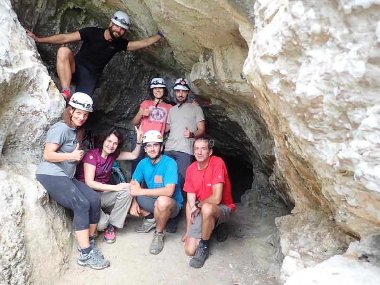 加拉夫自然公园的峡谷下降