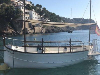 Alquiler de llaut durante 8 horas Puerto d'Andratx