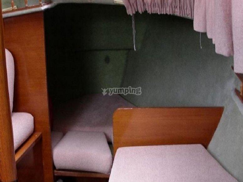 带床的卧室