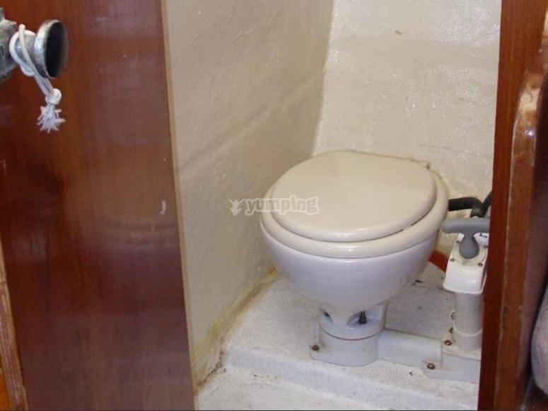 带有卫生间的浴室