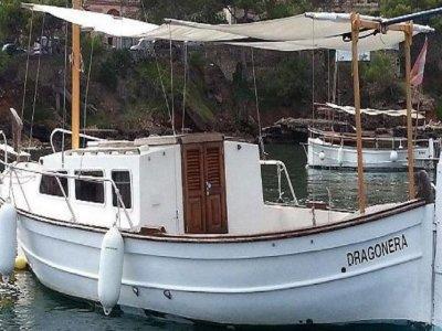 Alquiler barco llaut Menorquín Andratx 1 semana