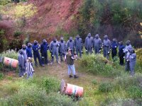 Team building y paintball