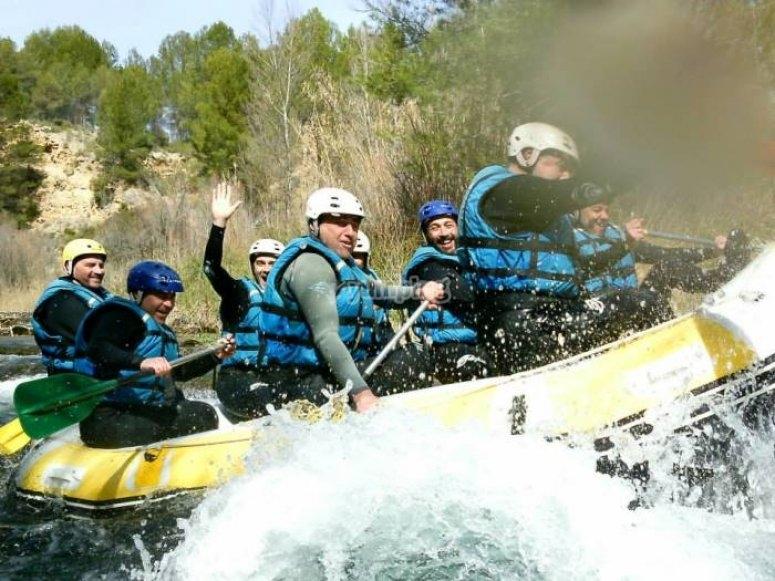 Rafting en el Cabriel