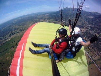 Volo in paramotore a Pedro Bernardo con video di 15 minuti