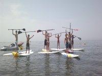 Alquiler material Paddle Surf en Estepona 1 hora