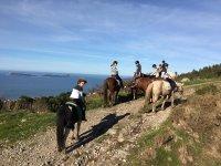 Ruta a caballo de 1 hora en Val Miñor