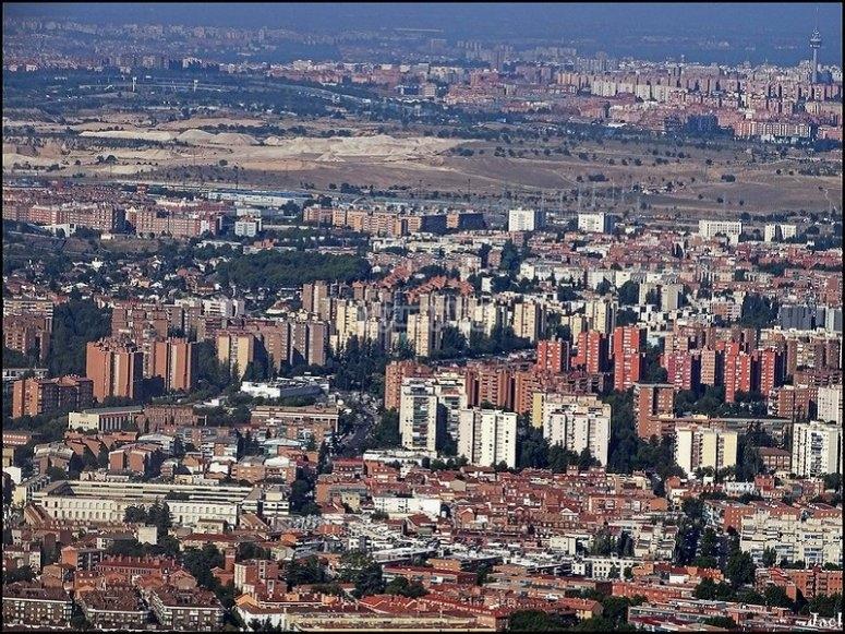 从空中观看马德里