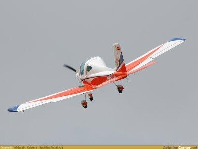 飞机飞行塞哥维亚渡槽和视频45分钟