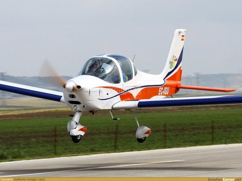 在阿维拉的飞行体验