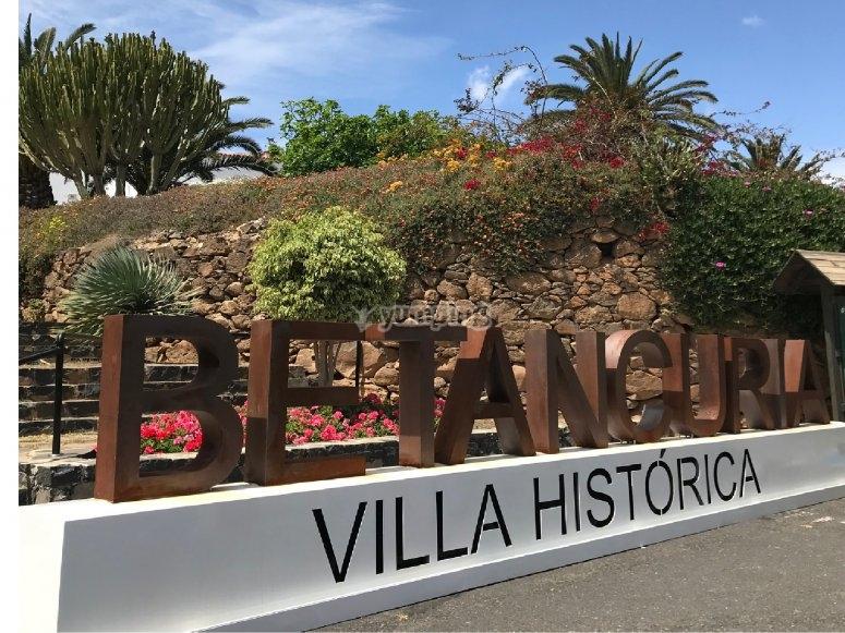探索Betancuria的古镇