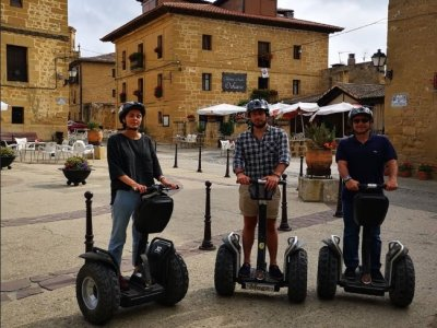 Guided Segway Tour in Briñas 90 minutes